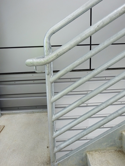 Fabrication Of Steel Emergency Egress Stairs Grand